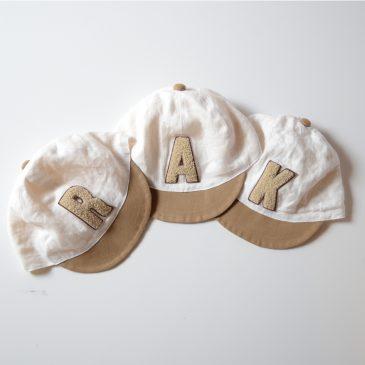 new!! 選べる♫ アルファベットロゴキャップ
